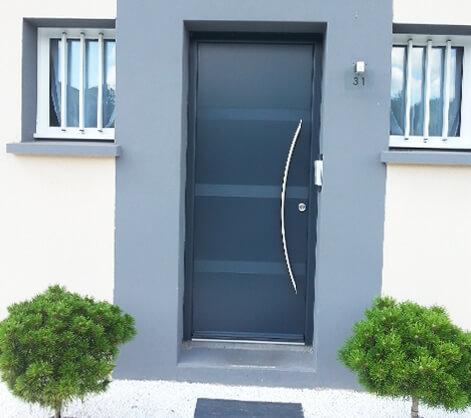 Installateur et fabricant portes d'entrée Nantes