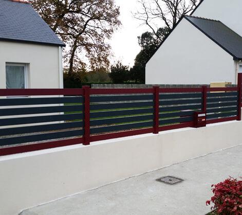 Installateur et fabricant clôtures alu et PVC Nantes