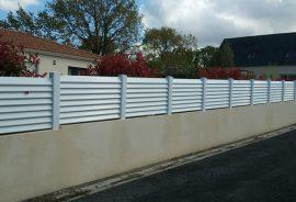 Portails et clotures PVC Nantes